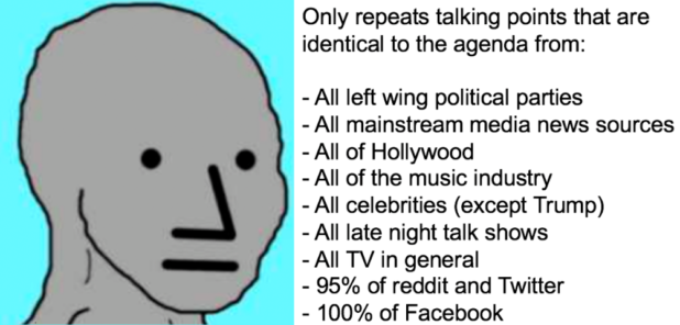 npc opinions are programmed