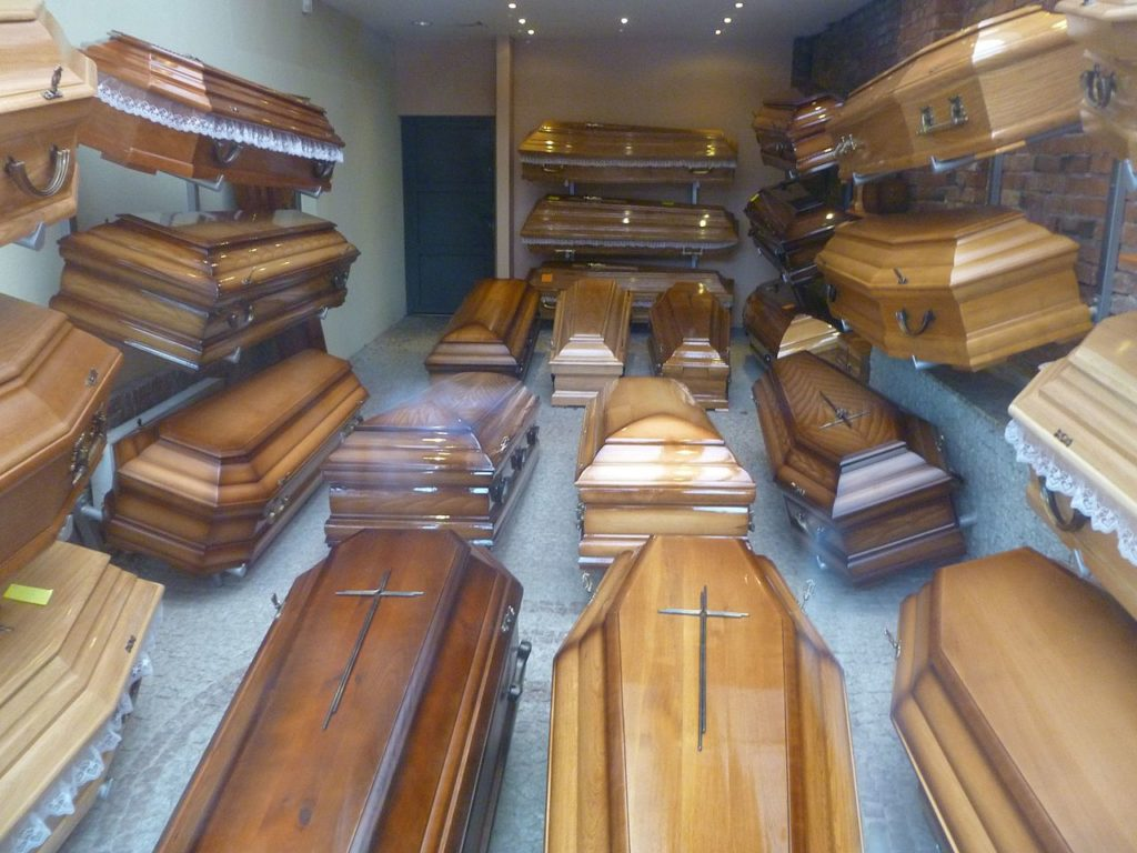 Replace your desk with a coffin